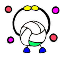 Volleyball 1. sticker #10841084