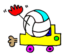 Volleyball 1. sticker #10841095