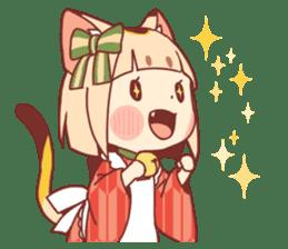 Manekineko girl sticker #10853136