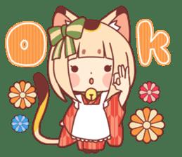 Manekineko girl sticker #10853145