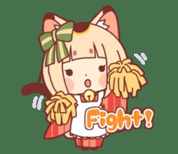 Manekineko girl sticker #10853147