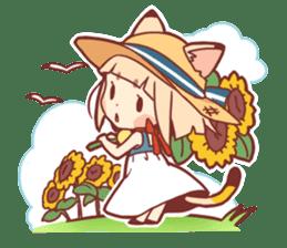 Manekineko girl sticker #10853165