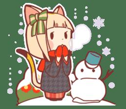 Manekineko girl sticker #10853167