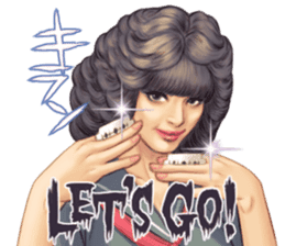 Japanese Bad Girls! sticker #10853422