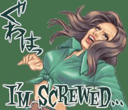 Japanese Bad Girls! sticker #10853433