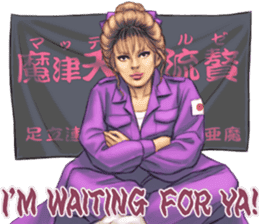Japanese Bad Girls! sticker #10853437