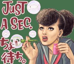 Japanese Bad Girls! sticker #10853439