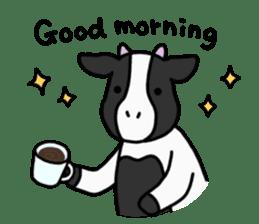 Cow Set 2 English. sticker #10859213
