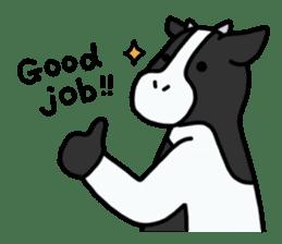 Cow Set 2 English. sticker #10859217