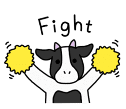 Cow Set 2 English. sticker #10859225