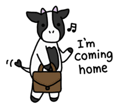 Cow Set 2 English. sticker #10859227
