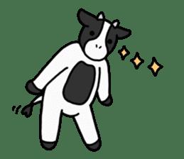 Cow Set 2 English. sticker #10859244