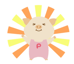 Pu-ton part2 (colorful overall) sticker #10859690