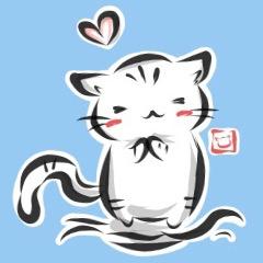 """kanji"" cat"