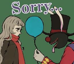 Lost Heart and Strange Circus sticker #10864797