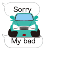 Enjoy the car! Sticker sticker #10865136