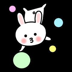 Convenient Sticker of Rabbit 3 © 2015 matsui-kuuuuuuuuuun| elPortale | Sell LINE Sticker, Sell LINE Theme