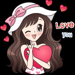 Boobib Sweet Pastels (English version) Akira Nasaree| elPortale | Sell LINE Sticker, Sell LINE Theme