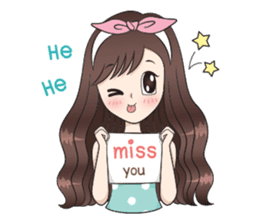 Boobib Sweet Pastels (English version) sticker #10871701