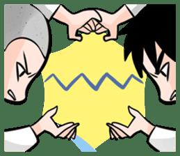 Karate life sticker #10874136