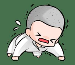 Karate life sticker #10874137