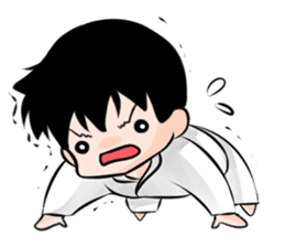Karate life sticker #10874138