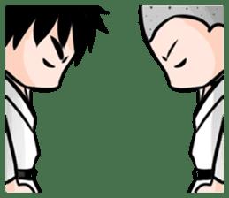 Karate life sticker #10874143