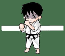 Karate life sticker #10874144