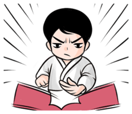 Karate life sticker #10874145