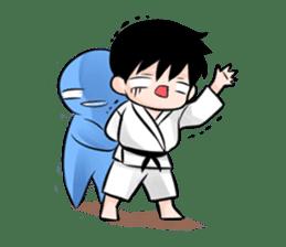 Karate life sticker #10874148