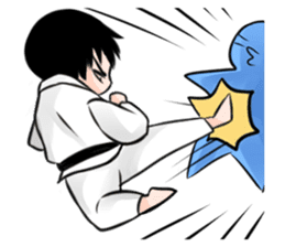 Karate life sticker #10874154