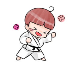 Karate life sticker #10874155