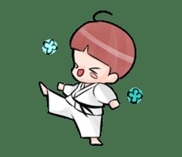 Karate life sticker #10874157