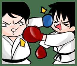 Karate life sticker #10874174