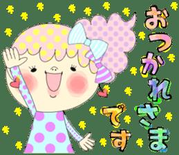 Dress up the cute girl.1 sticker #10875058