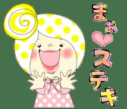Dress up the cute girl.1 sticker #10875061