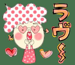 Dress up the cute girl.1 sticker #10875062