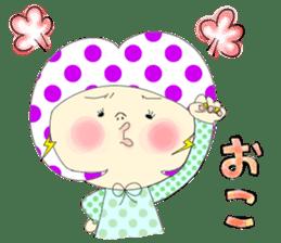 Dress up the cute girl.1 sticker #10875073