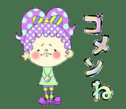 Dress up the cute girl.1 sticker #10875084