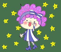 Dress up the cute girl.1 sticker #10875086