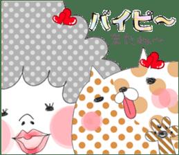 Dress up the cute girl.1 sticker #10875095