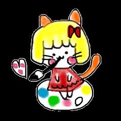 Ms Nekoko is a cat willful freely.