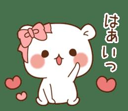 Vulgar bear For sweethearts sticker #10878522