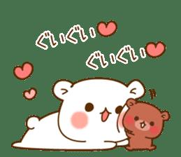 Vulgar bear For sweethearts sticker #10878534