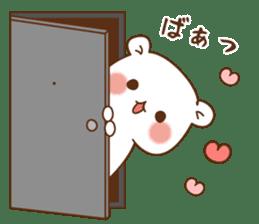 Vulgar bear For sweethearts sticker #10878539
