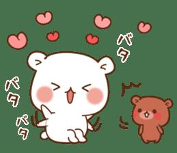 Vulgar bear For sweethearts sticker #10878541