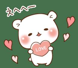 Vulgar bear For sweethearts sticker #10878543