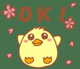 Lady chick Hiyotaso -Spring version- sticker #10880455