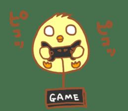Lady chick Hiyotaso -Spring version- sticker #10880471