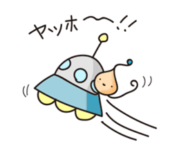 Alien family Sticker sticker #10889528
